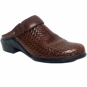 Ariat Brown Braided Leather with Fold-over Strap 9